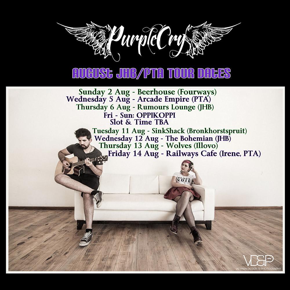 Road to Oppikoppi Tour Dates