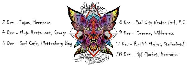 Dec 2016 tour poster